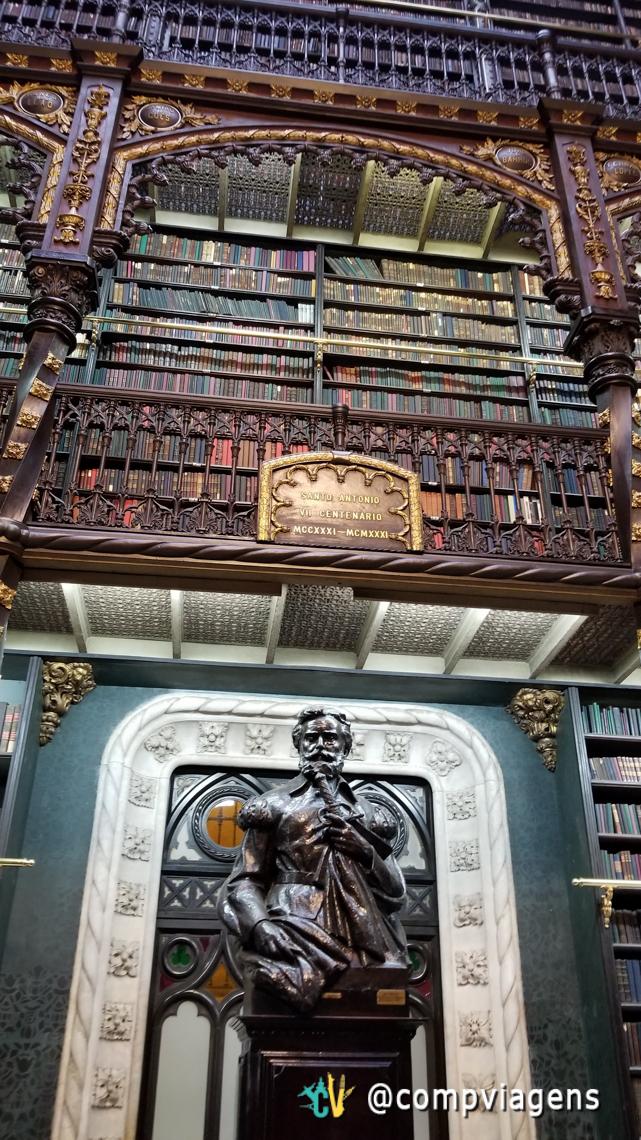 Detalhes do Real Gabinete Português de Leitura