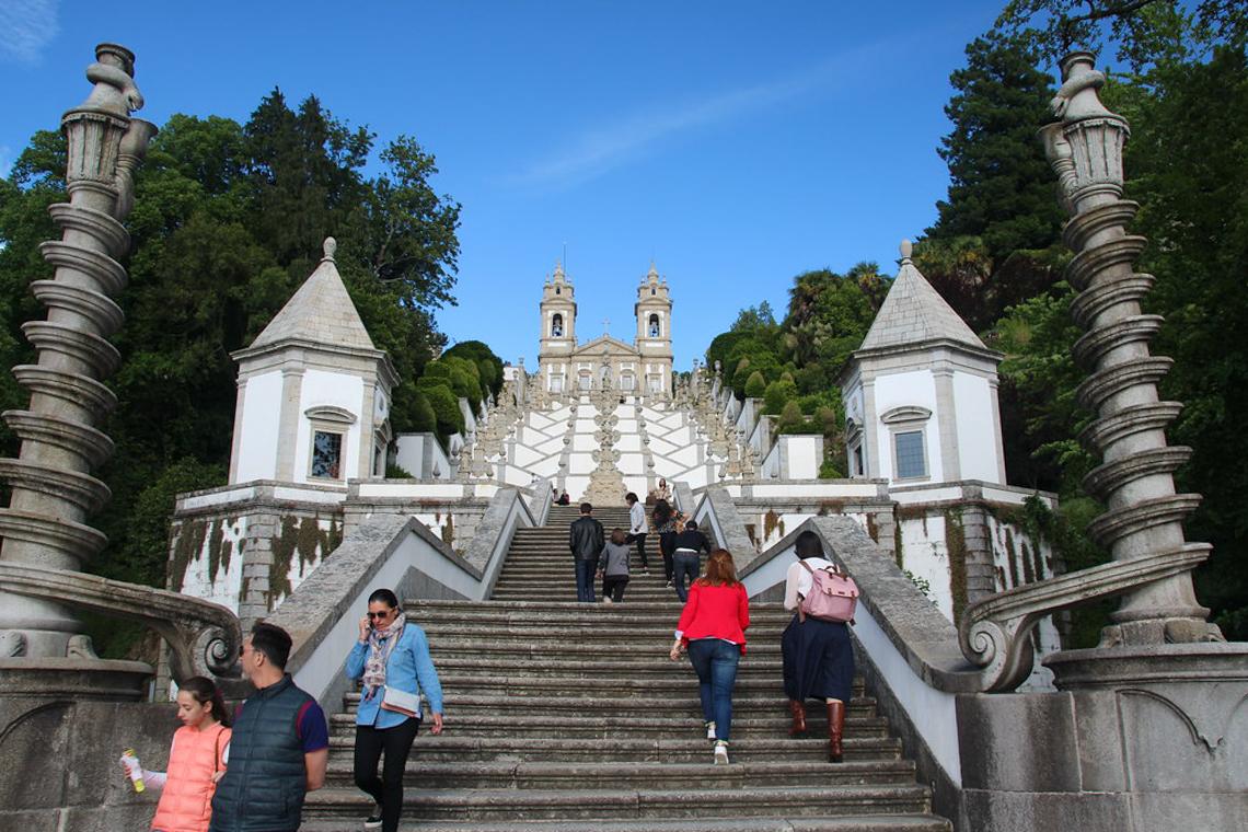 Santuário de Bom Jesu, em Braga